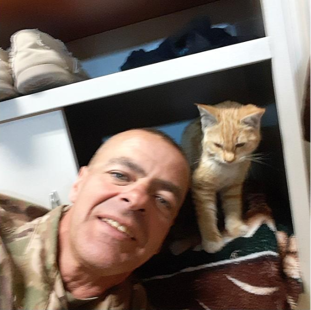 Soldier Raising Money to Bring Cat Home From Afghanistan