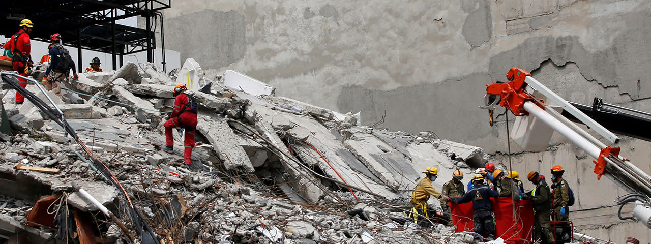 墨西哥7.1強震