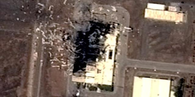 iran centrifuge center post explosion