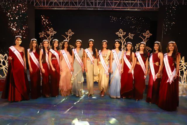 Participantes de at the Miss India East 2019. (Debajyoti Chakraborty/NurPhoto Getty Images)
