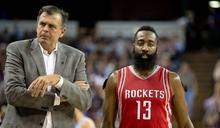 NBA》哈登不是領袖 前火箭主帥:他喊防守你敢聽?