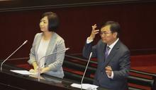 立院民進黨團協調決定,下會期幹事長劉櫂豪、書記長何欣純