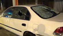 酒駕男被人砸車報警 酒測沒過自己先GG