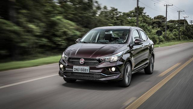 Comparativo Fiat Cronos x VW Virtus x Honda City