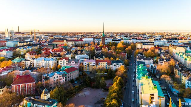 Helsinki, where Tuomas is based. Participants for the UBI trial were selected from across the country.