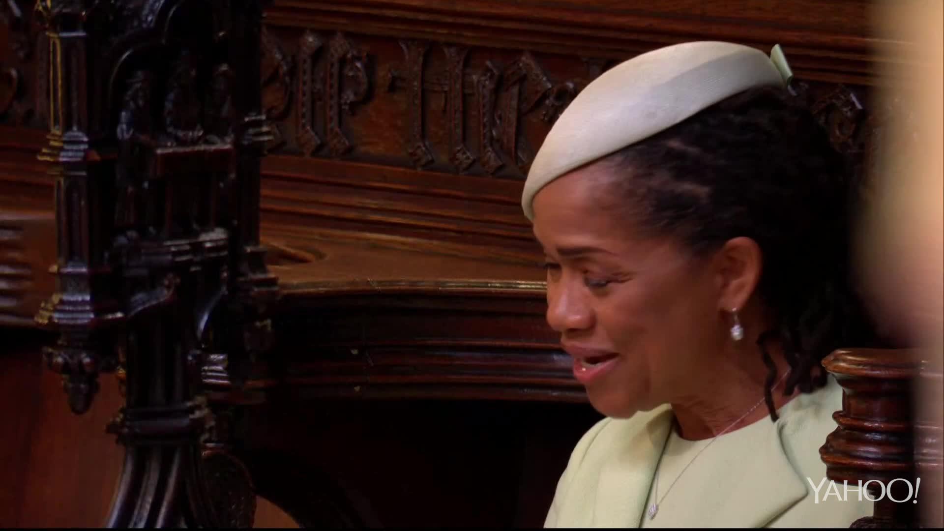 Royal Wedding: Meghan's Mum teary eyed