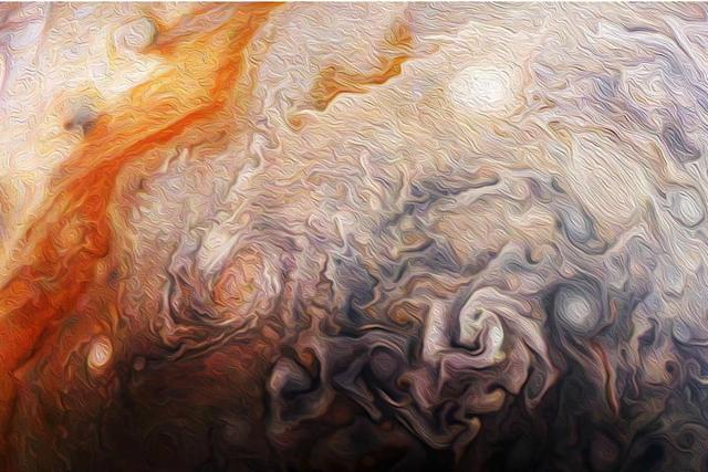 Foto:NASA, JPL-Caltech, SwRI, MSSS; Procesamiento:Rick Lundh