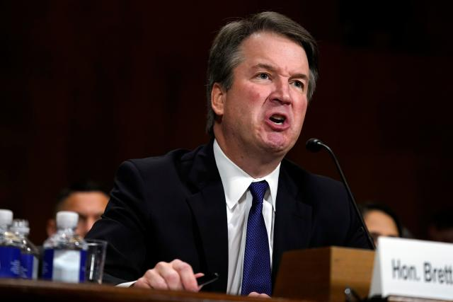 Brett Kavanaugh is on his way to the Supreme Court, despite public allegations of sexual assault or misconduct by three women. (ANDREW HARNIK via Getty Images)
