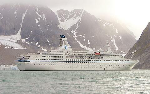 Polar bear guards travel with most cruises in the Arctic - Credit: Peter Bischoff