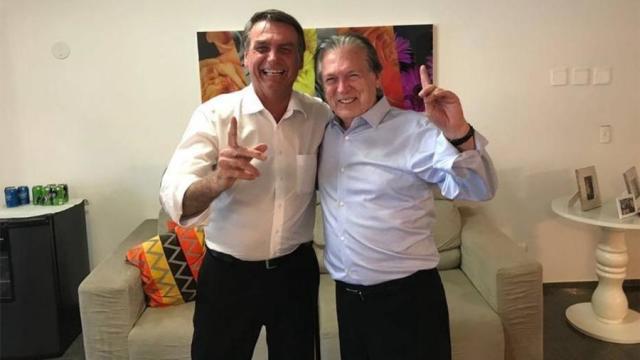 贾尔·博尔索纳罗(Jair Bolsonaro)和卢西亚诺·比瓦尔(Luciano Bivar):前盟友和现今对立