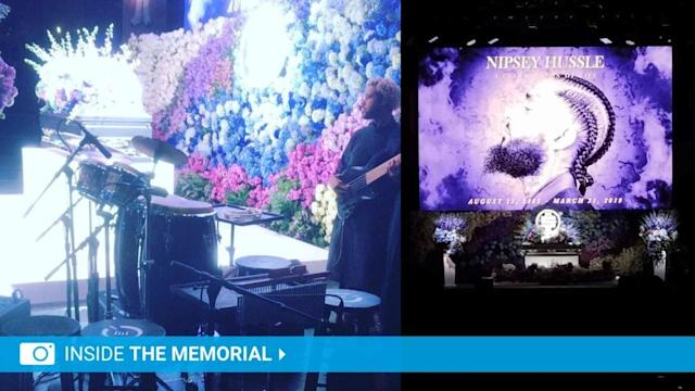Nipsey Hussle Memorial Collage