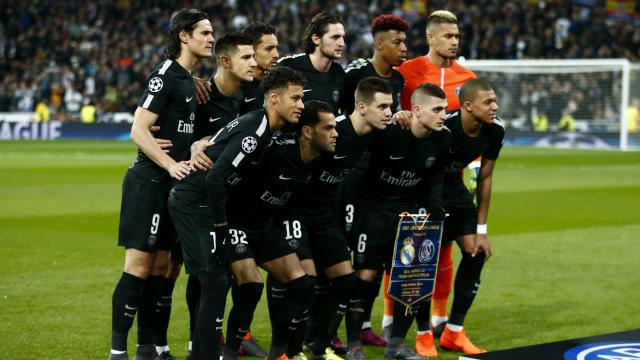 皇家马德里PSG冠军联赛