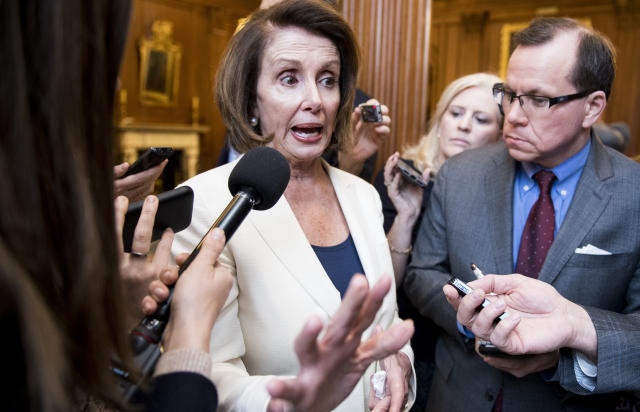 """House Minority Leader Nancy Pelosi (D-Calif.) has been going after Republicans for a""""culture of corruption, cronyism and incompetence."""""""
