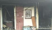 雲林貨櫃屋大火 13歲女童命喪火窟