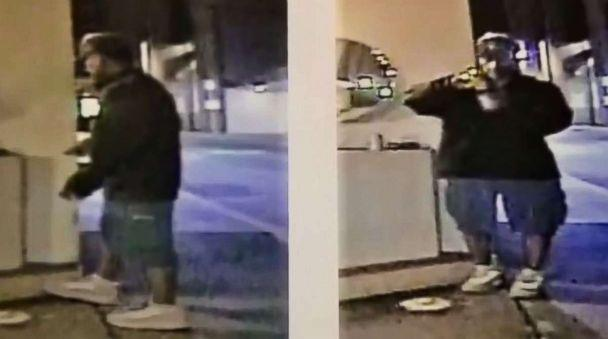 PHOTO: Los Angeles police released surveillance footage of a suspect in the beating deaths of two homeless men in the city over the past few weeks. (LAPD)