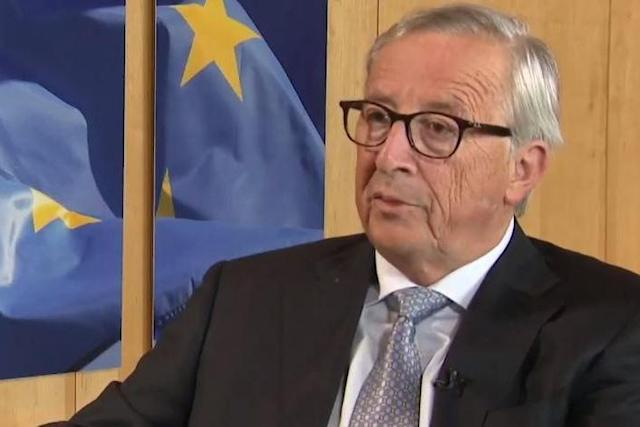 The European Commission president said the EU could not be held accountable for a wholly 'British decision' (Sky News)