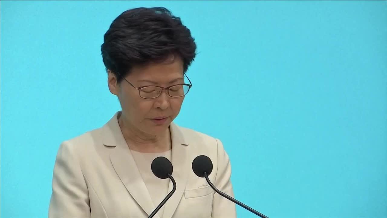 200萬港人反送中 林鄭月娥承認「要負很大責任」未提撤逃犯條例
