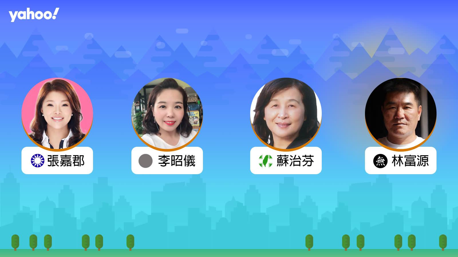 2020立委選舉雲林縣第一選區,你支持誰?