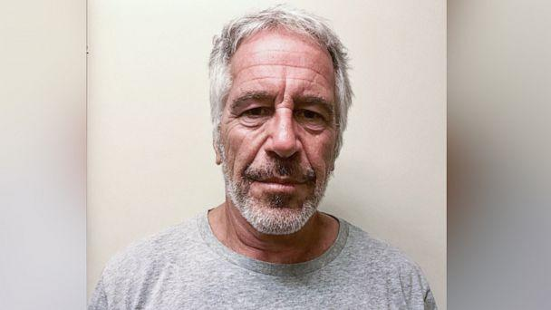 PHOTO: An undated handout photo made available by New York State Division of Criminal Justice showing Jeffrey Epstein, issued 25 July 2019. (New York State Division of Criminal Justice/EPA-EFE/REX)