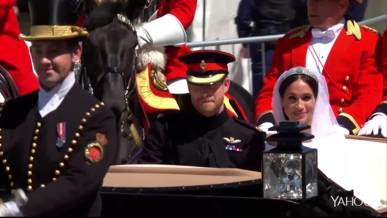 Royal Wedding: The Procession