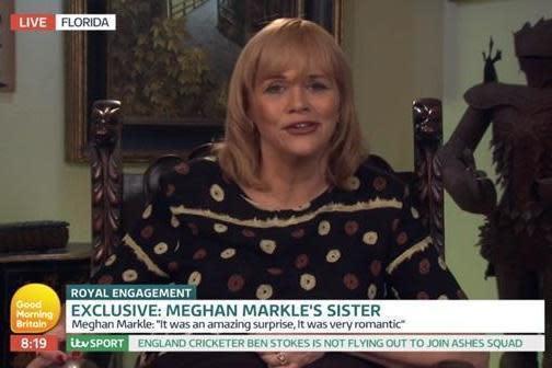 Half-sister: Samantha Markle (ITV)