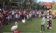 國慶4天連假 生態遊樂區遊客爆滿