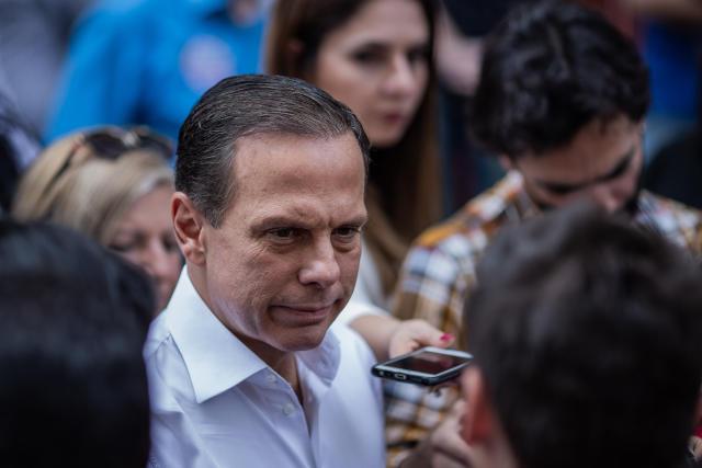 ***ARQUIVO***SÃO PAULO, SP, 17.10.2018: O governador de São Paulo, João Doria (PSDB). (Foto: Eduardo Anizelli/Folhapress)