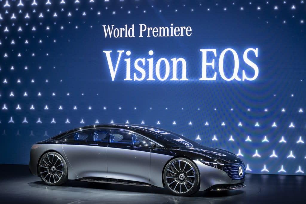 【2019法蘭克福車展】M-Benz Vision  EQS領軍,「Ambition 2039」預告豪華純電車隊誕生