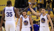 NBA》三巨頭獻75分 勇士輕鬆耍魔術
