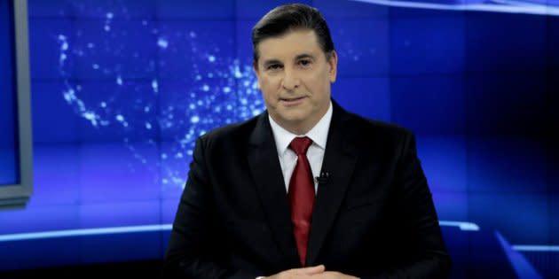 O jornalista Carlos Nascimento vai comandar o debate do SBT com a Folha e o UOL.