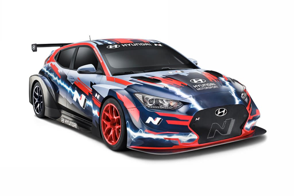 Hyundai推出Veloster N ETCR,征戰入門電動房車賽!