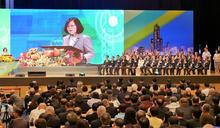 【影音】「世界台灣商會聯合總會年會」蔡總統:臺灣越來越好 也值得看好