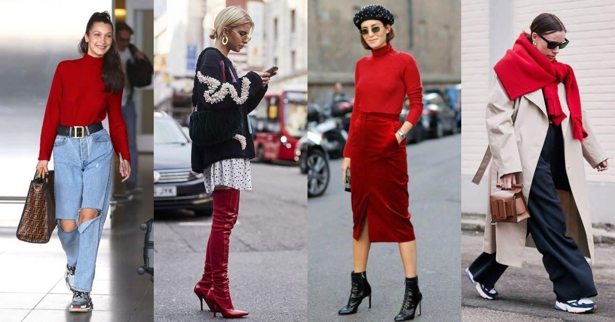 【2020新年特輯】過年穿紅不顯俗氣!人人能駕馭的「時髦紅」穿搭提案