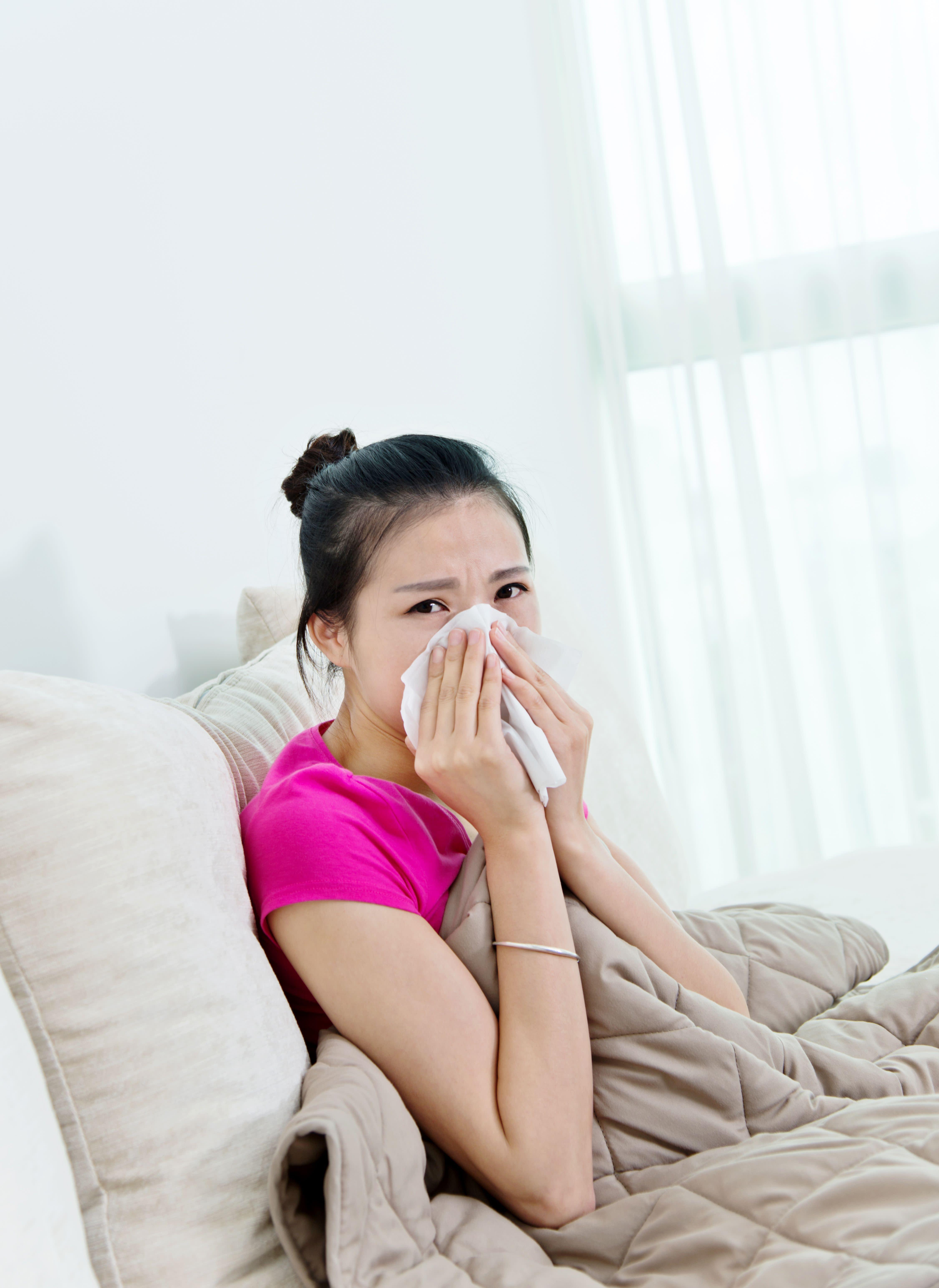 快感冒了怎麼辦!五招教你趕快擋病毒