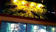 電影院大廳播送血腥暴力畫面 新北勒令停播開罰