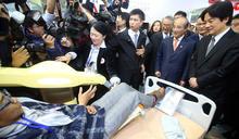 賴清德參觀台灣醫療科技展(2) (圖)