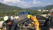 南投國姓2車相撞 釀1死7傷