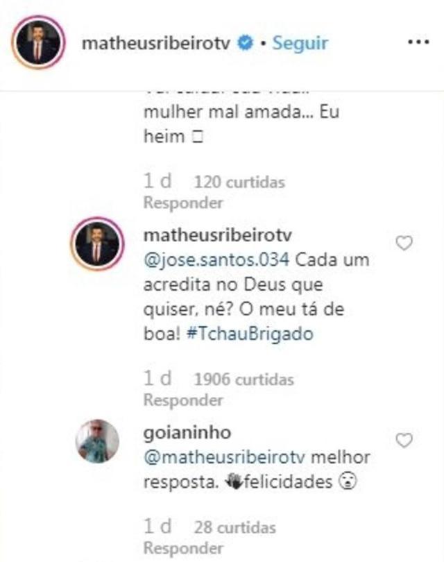 Instagram/@matheusribeirotv