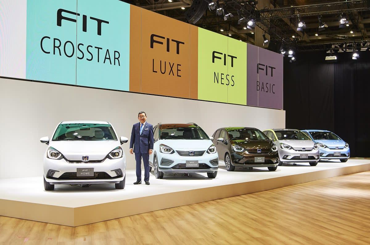 下一代國產車型長這樣?  全新Honda Fit & Toyota Yaris正式亮相(上)--Honda Fit篇