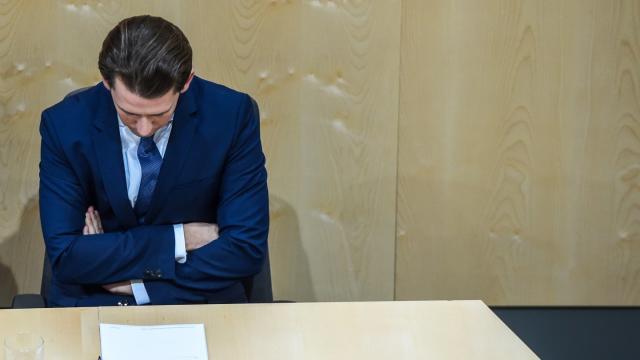 Für Sebastian Kurz ist die Abwahl als Bundeskanzler ein Dämpfer. Doch er schaut bereits auf die geplante Neuwahl. Foto: Guo Chen/XinHua