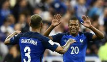 世足會外賽 法國痛宰荷蘭