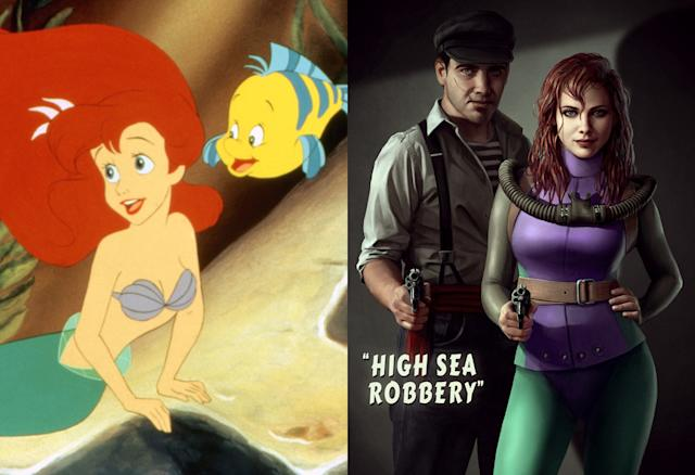 Ariel, from