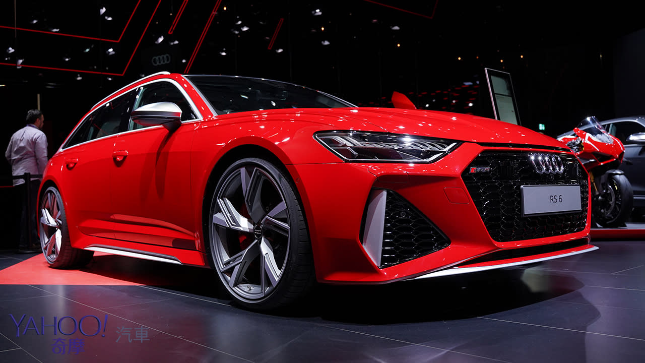 【2019法蘭克福車展】熱血派家長極致首選!Audi最強Wagon旅行車款RS6 Avant嗆辣現身!