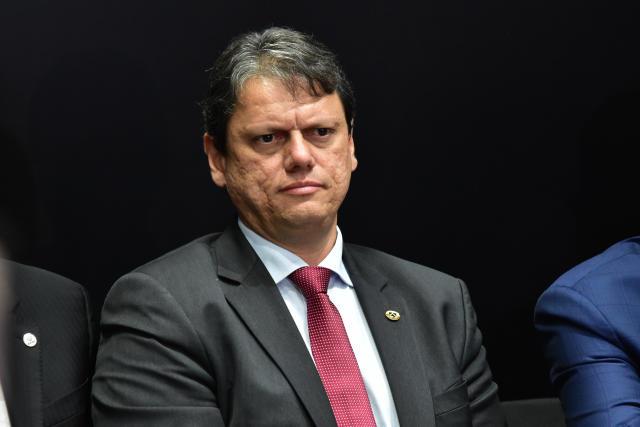 ***FOTO DE ARQUIVO*** SÃO PAULO, SP - 28.05.2019 - O ministro da Infraestrutura, Tarcísio Gomes de Freitas. (Foto: Roberto Casimiro/Fotoarena/Folhapress) ORG XMIT: 1738946
