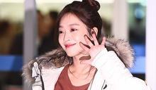 [MD PHOTO]韓國女藝人 趙寶兒仁川機場啟程飛往美國