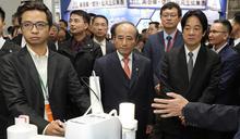 賴清德參觀台灣醫療科技展(3) (圖)