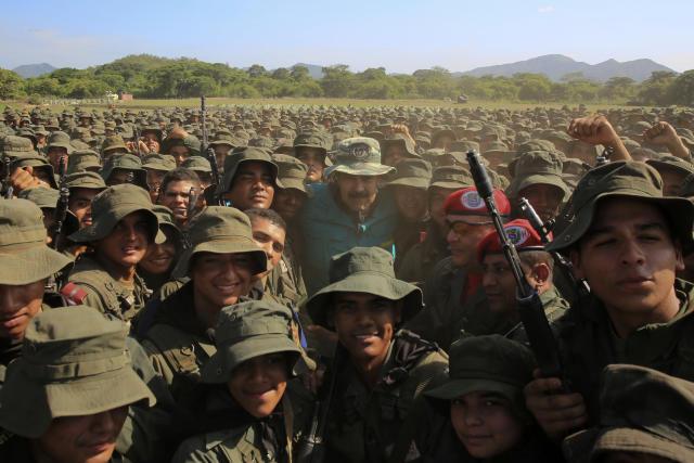 Nicolás Maduro, presidente de Venezuela. (Jhonn Zerpa/Miraflores Press Office via AP)