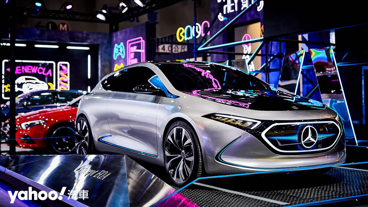 【車展同場加映】窺探次世代純電鋼砲!Mercerdes Concept EQA概念車亮眼展示