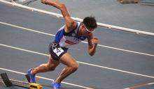 世大運田徑》男子400公尺跨欄 陳傑飆速摘銀