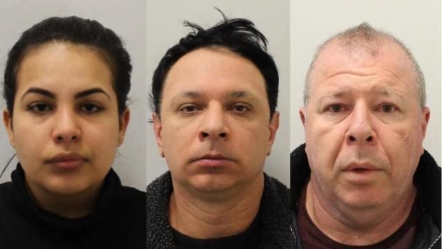 """巴西家庭因在伦敦从事卖淫,奴役和人口贩运的""""帝国""""而被捕"""